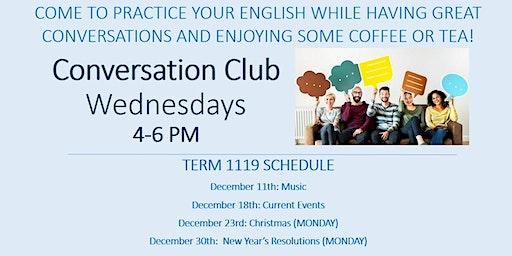 Conversation Club w/FLS International @ Saint Peter's University