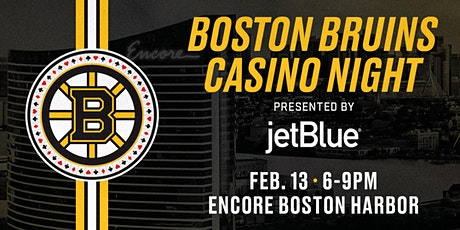 Boston Bruins Casino Night Presented by JetBlue tickets