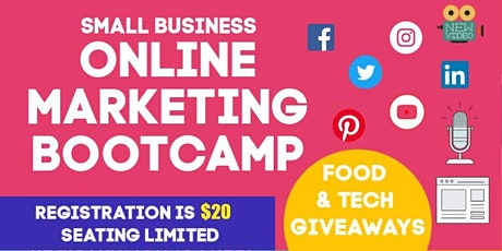 Online Marketing Bootcamp for Small Business Owners (FEB 2020) tickets
