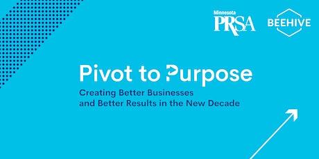 Pivot to Purpose tickets