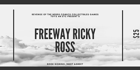 Revenge Of the Nerds Comics Collectibles Games Toy Etc Present's Ricky Ross tickets