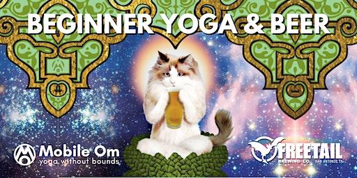 Beginner Yoga & Beer