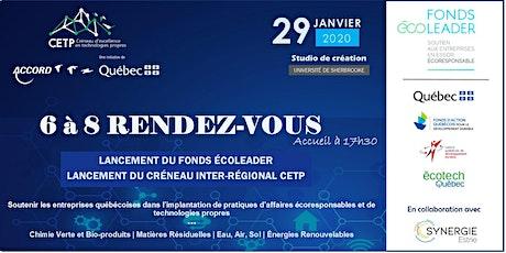 6@8 Rendez-Vous: Double lancement (Fonds Écoleader et CETP) billets