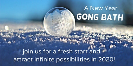 New Year Gong Bath by B&J in Westcott tickets