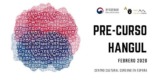 [Pre-inscripción] CURSO HANGUL (12 al 26 de febrero 2020)