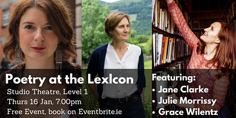 Poetry at the LexIcon tickets