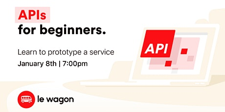 API for Beginners tickets