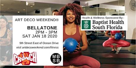 Bellatone @ Art Deco Weekend 2020 with Crunch Fitness tickets