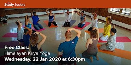 FREE CLASS: Himalayan Kriya Yoga tickets