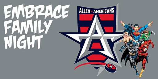 Embrace Family Night at the Allen Americans