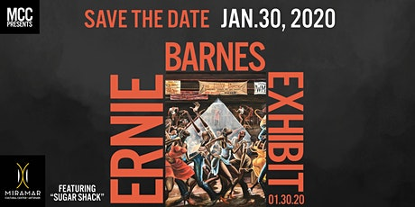 "SAVE THE DATE: MCC Presents  ""Sugar Shack: An Ernie Barnes Expo"" Reception tickets"