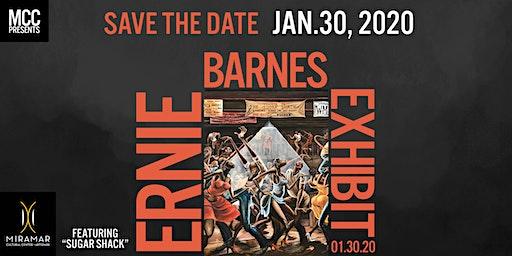 "SAVE THE DATE: MCC Presents  ""Sugar Shack: An Ernie Barnes Expo"" Reception"