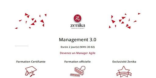 formation : Management 3.0 FR  2 jrs
