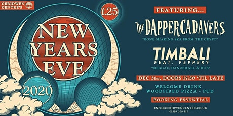 NYE at Ceridwen tickets