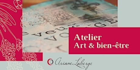Atelier ART & Bien-être: Octobre / Les masques tickets