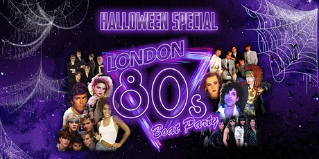 London 80s Halloween Boat Party! tickets