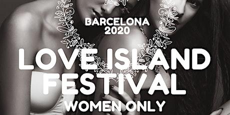 Barcelona Love Island Women Only entradas