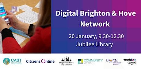 Digital Brighton & Hove Network Meeting - Jan 2020 tickets