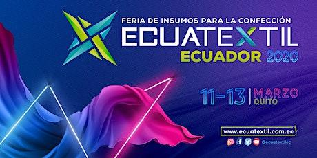 ECUATEXTIL 2020 / Feria de Insumos para la Confección y Moda entradas