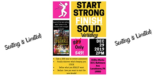 Start Strong/Finish Solid Year-End Workshop