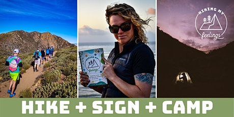 Hiking My Feelings in La Jolla: Hike + Book Signing + Campout tickets