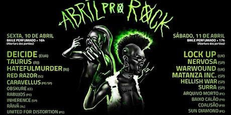 Excursão: Abril Pro Rock em Recife ingressos