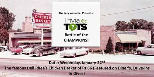 "The Lazy Volunteer Presents ""Trivia for Tots"""