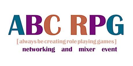 #ABCRPG TTRPG January Networking & Mixer tickets