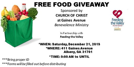 FREE Food Give-Away