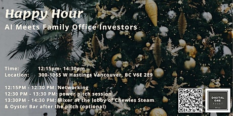 Happy Hour- AI Startups Meet Family Office investors tickets