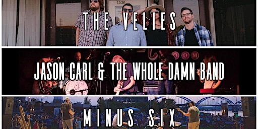 Jason Carl Band, Minus Six and The Velies: A Benefit Show for RME