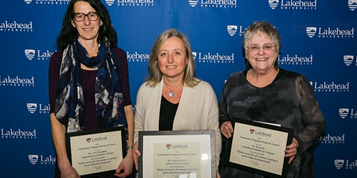 Lakehead University's Research and Innovation Week Awards Reception