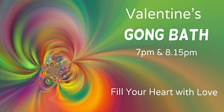 Valentine's Relaxing Gong Bath by B&J in Godalming tickets