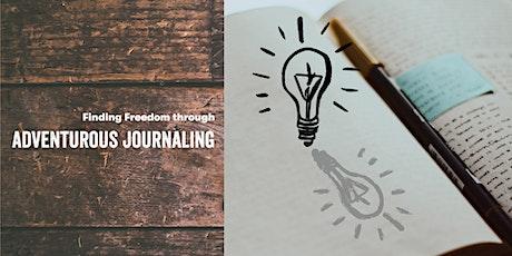 Finding Freedom through Adventurous Journaling tickets