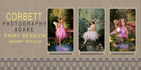 Photography Enchanted Fairy Studio Session. 18 Jan 2020 tickets