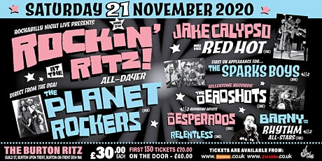 Rockin' At The Ritz All-Dayer tickets