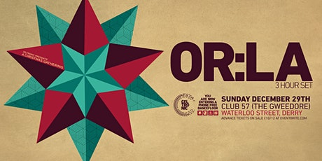 Celtronic Christmas Gathering with Or:la tickets