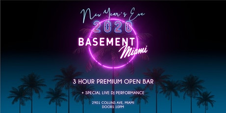 Joonbug.com Presents Basement New Years Eve Party 2020 tickets