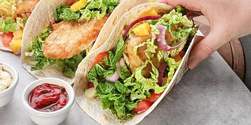 Lunch 'n' Learn: Fish Tacos with Cilantro-Lime Crema