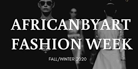 AFRICANBYART FASHION WEEK 2020 tickets
