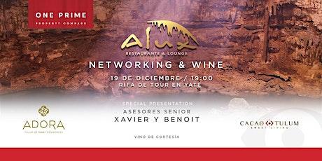 Networking  & Wine boletos