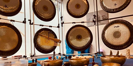 Relaxing Gong Bath with 12 Gongs by B&J in Westcott tickets