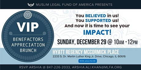 2nd Annual Benefactors VIP Breakfast at MAS-ICNA Convention - Exclusive Invitation tickets