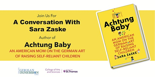 "A Conversation with Sara Zaske, Author of ""Achtung Baby"""