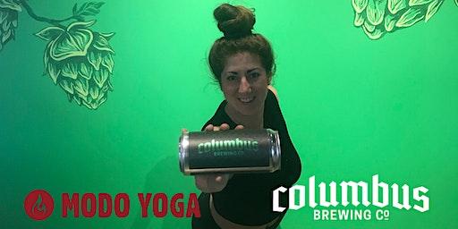Modo Yoga at The CBC Taproom