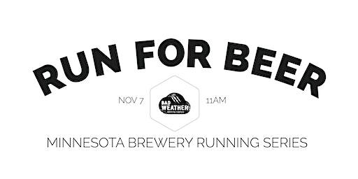 Beer Run - Bad Weather Brewing Co   2020 Minnesota Brewery Running Series