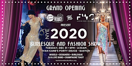 NYE PARTY & FASHION SHOW by FASHION WEEK COLUMBUS tickets