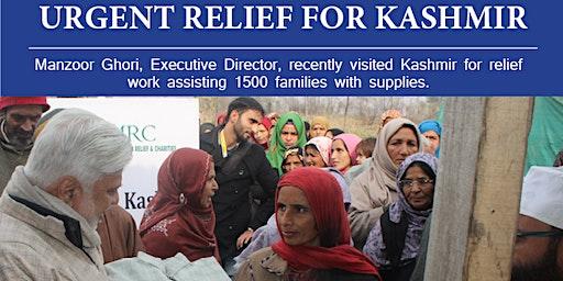 Urgent Relief for Kashmir