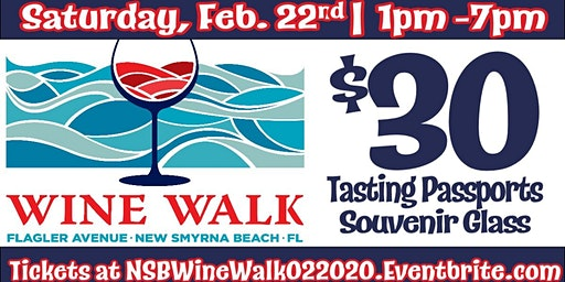 Flagler Avenue Wine Walk - February 2020