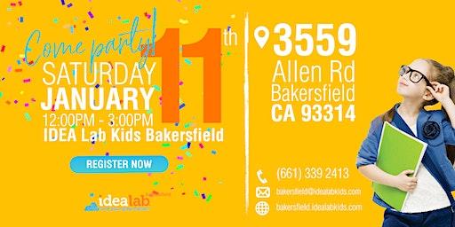 Idea Lab Kids Bakersfield Grand Opening
